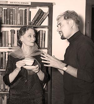 Mit Olga Koussevitzky