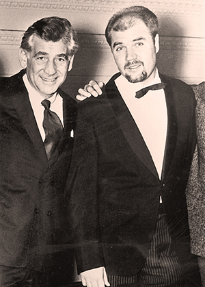 As Bernstein's assistan