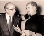 Springer with Aaron Copland