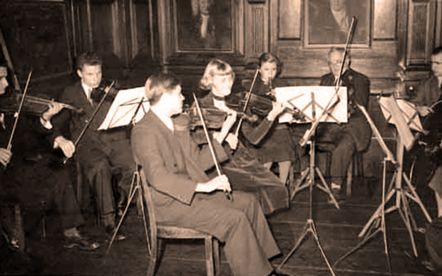 As concertmaster in Fulda