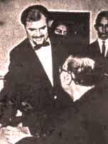 Springer mit Karl Böhm